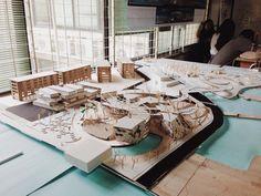 Masterplan at Muara Baru, Jakarta Scale 1:200 - nexttoparchitects