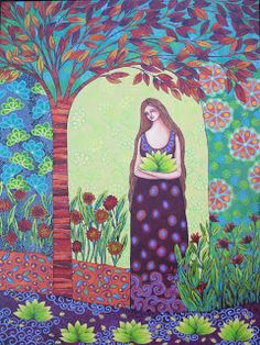 Find the most delicate qualities within; then treat these qualities as tiny little seeds that you would plant in your heart, with you being the gardener. ~ John de Ruiter ~ Art by Sonia Koch Spirit of a Hippie Mandela Art, I Am The Walrus, Sacred Feminine, Naive Art, Visionary Art, Folk Art, Aurora Sleeping Beauty, Illustration Art, Disney Characters