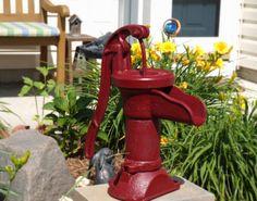 ...Old Antique Water Pump
