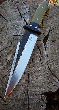 d729f7be03a1 Semi Custom Handmade Black Thorn Knife by Joe Loui Knives Angeln,  Messerscheide, Bushcraft Messer