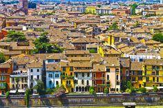 Verona, Italy   Medieval City Of Verona Italy Photograph