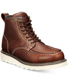 BEARPAW Men's Crockett Leather Boots