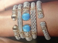 Stacks on stacks on stacks of #Vahan bracelets! #RockHerWorld