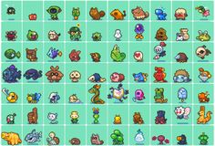 pixel monsters - Google Search