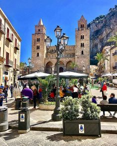 The city of Palermo, Sicily has so many attractions it's mind-blowing. Amazing architecture, delicious food, crystal waters, ancient cities and much more. Italy Vacation, Italy Travel, Places To Travel, Places To See, Places In Italy, Sicily Italy, Visit Italy, Adventure Is Out There, Palermo