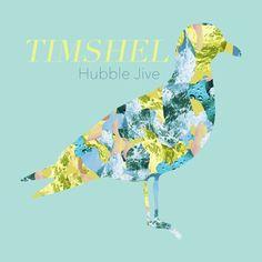 Hubble Jive artwork by Petronella Nordman #music #indie #timshel #album #cover #albumart #art #design #bandlogo #logo #bird #collage #seagull #albumcover #EP #artwork
