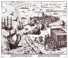 Belegering van Den Briel in 1616 uitgeg. door Baudartius (Brielle)