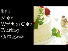 How to Make Wedding Cake Frosting Italian Meringue Buttercream - YouTube