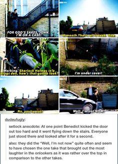 Sherlock - His Last Vow - behind the scenes