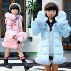 32.40$  Buy now - https://alitems.com/g/1e8d114494b01f4c715516525dc3e8/?i=5&ulp=https%3A%2F%2Fwww.aliexpress.com%2Fitem%2FGirls-outerwear-girls-winter-jacket-girls-down-coats-jacket-parkas-warm-glove-overcoat-children-kids-jackets%2F32740648590.html - Girls outerwear girls winter jacket girls down coats jacket parkas warm glove overcoat children kids jackets for girls jackets 32.40$