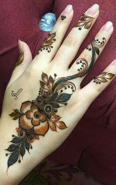 Modern Henna Designs, Latest Henna Designs, Finger Henna Designs, Legs Mehndi Design, Mehndi Designs 2018, Mehndi Designs For Beginners, Mehndi Designs For Girls, Mehndi Design Pictures, Mehndi Designs For Fingers