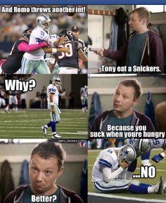 Feeling better Romo?