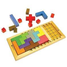 Sie suchen ein intelligentes Spiel für Kinder, das auch Erwachsenen gefällt? Mit Katamino haben Sie Ihr Ziel erreicht.