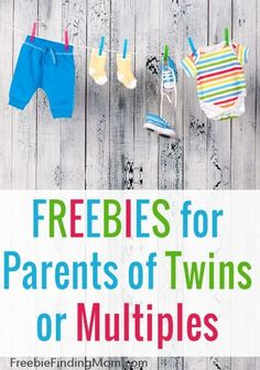 Freebies for Parents of Twins or Multiples - Having twins or multiples means extra adorableness but it also means extra expense. Parents can save money by claiming these freebies for twins or multiples. They can receive free formula, onesies, parenting magazines, coupons, and more.
