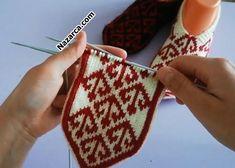 gloves made from socks Be i Kilim Desenli Patik Modelleri. Osmanl Motifli 5 i Patik Modeli 2 farkl desenle st ift apa desenli, alt zikzak desenli olarak yaplyor. Baby Knitting Patterns, Ted Baker, Moda Emo, Knitting Socks, Eminem, Fingerless Gloves, Arm Warmers, Crochet, Sewing Projects