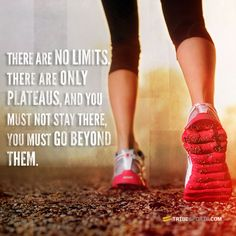 There are no limits, there are only plateaus, and you must not stay there, you must go beyond them. #fitnessmotivation #buildabodythatmatters