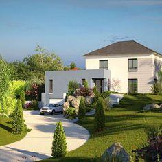 Modèle de maison MADISON - . Retrouvez tous les types de maison à vendre en France sur Faire Construire Sa Maison
