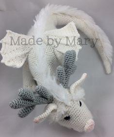6 crochet amigurumi mermaid doll patterns mermaid dolls amigurumi winter dragon amigurumi pattern by mary smith fandeluxe Gallery
