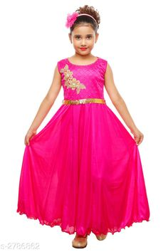 Party Gowns For Kids, Kids Gown, Gowns For Girls, Frocks For Girls, Dresses Kids Girl, Flower Girl Dresses, Dresses For Work, Dress Work, 10 Years Girl