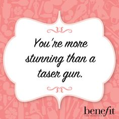 It's true, gorgeous! #beautyboost #benefitbeauty