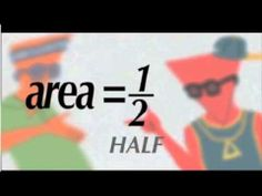 This video will teach you how to find area of triangles, (regardless of shape or size) and why the formula works! Teaching Geometry, Teaching Math, Teaching Ideas, Math Songs, Maths Area, Maths Resources, Math Measurement, Science Videos, Algebra 1