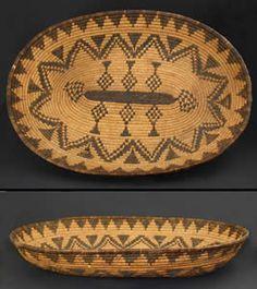 Apache Indian Baskets