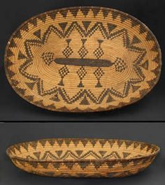 Apache Indian Baskets