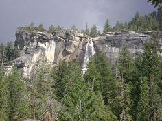 Yosemite National Park - Nevada Fall  #Yosemite #YosemiteNationalPark #NevadaFalls #California #USA