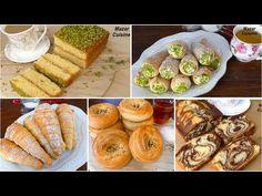 4 Tasty Eid Desserts By Mazar Cuisine چهار نوع شیرینی های بی نظیر برای عید - YouTube Eid Food, Eid Special, Special Recipes, Fresh Rolls, Baked Potato, Cake Recipes, Sweets, Baking, Ethnic Recipes