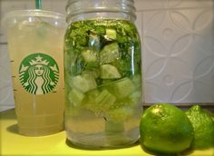 Make your own Starbucks Cool Lime Refresher!