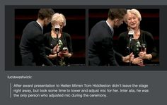 And this is why we love Tom Hiddleston