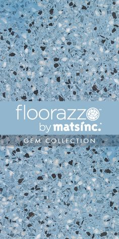 #Terrazzo #Tile #Flooring ? // #Floorazzo ™ #Gem Collection // Stonewashed // Learn more & order samples here http://matsinc.com/commercial-flooring-products/contract-flooring/terrazzo-tile-flooring/floorazzo-gem.html