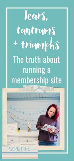 Recurring revenue from a successful membership site. What could be a better business idea? But it's not all coffee and syrup. In this podcast with Callie from The Membership Guys I share the tears, tantrums and triumphs that went into the making of The Worditude Club. solopreneur | female entrepreneur | small business marketing