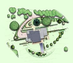 Terraced Garden - contemporary - Drawings - South East - Barnes Walker Ltd - Landscape Architects