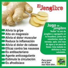 Ginger for health Healthy Habits, Healthy Tips, Healthy Recipes, Health And Wellness, Health Fitness, Smoothie Challenge, Natural Medicine, Health Remedies, Healthy Drinks