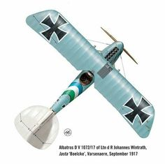 Albatros D.V ... by Harry Dempsey