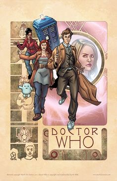 Doctor who the tenth doctor.