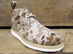 Camo Wedge Collection by British Millerain x Dr. Martens