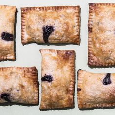 [Bon Appétit] Blueberry-Lemon Hand Pies Recipe
