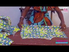 How To Cut A Breast Pad - YouTube African Dress Patterns, African Lace Dresses, Baby Girl Dress Patterns, Dress Sewing Patterns, Princess Cut Blouse Design, Diy Corset, Circle Skirt Pattern, African Fashion Skirts, Fashion Dresses