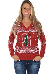 Women's Stanford University Sweater Tipsy Elves \  #Christmas #gifts click to get more information or how to purchase.