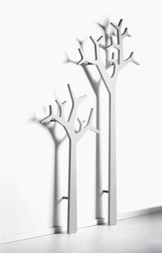 Wall mounted tree - coat stand!