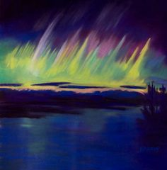Ann Duckett - six visions Northern Lights, Ann, Nature, Travel, Sketching, Stained Glass, Artist, Paint, Voyage