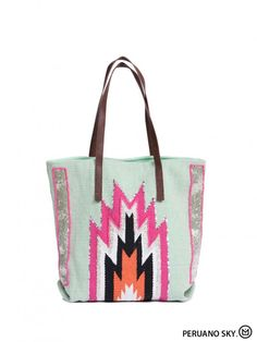 Collection HIPANEMA ~ Sac péruano sky ~ Disponible en boutique: 85 rue de Lévis 75017 PARIS ou sur http://sinaraboutique.fr