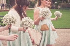 Inspiration- baby's breath bouquets