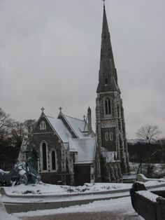 St. Alban's Anglican Church in Copenhagen - was married there many moons ago  :)