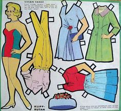 As a youngster, I was farmed out to my grandparents' house every other weekend which was not the punishment it may initially sound like. Vivian Vance, Superman Movies, Paper Dolls Printable, Fashion Designer, Lucille Ball, I Love Lucy, Vintage Paper Dolls, Yesterday And Today, Retro Toys