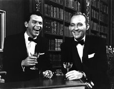 Raise your glass to Frank Sinatra and Bing Crosby in High Society, 1956