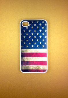 iphone 4 sparkly american flag case | Iphone 4 Case - US Flag Iphone 4s Case, Iphone Case, Iphone 4 Cover on ...