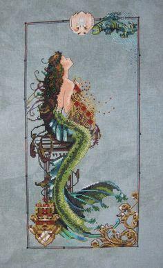 *Mermaid ~ Mirabilia Cross Stitch
